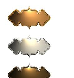 metalLabels v3 vector image