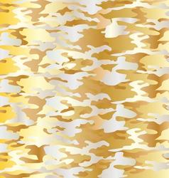 Metallic camouflage vector