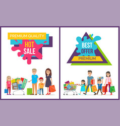 premium quality best offer on vector image