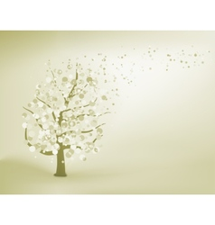 Abstract elegant tree eps 8 vector