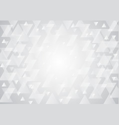 Abstract textured polygon on white background vector