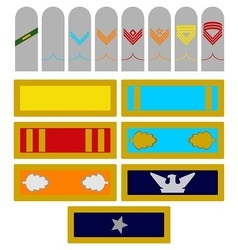 Armed forces army insignia georgia vector
