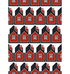 Real estate theme symmetric seamless pattern vector
