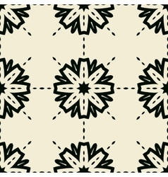Stylized abstract seamless tiled wallpaper vector image vector image