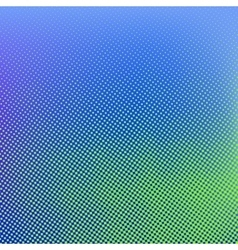 Green blue halftone background vector image