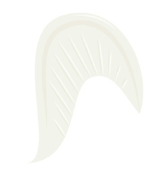 Angel wing icon cartoon style vector