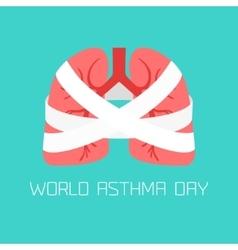 Asthma-respiratory system disease vector
