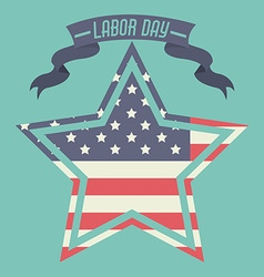 Labor Day design vector image