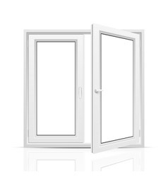 Open window vector image vector image