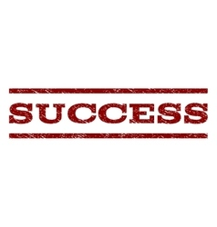 Success watermark stamp vector