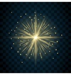 Shine star sparkle icon vector image