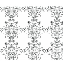 Abstract graphic ornament pattern vector image vector image