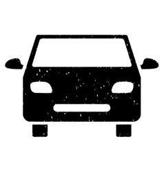 Car grainy texture icon vector