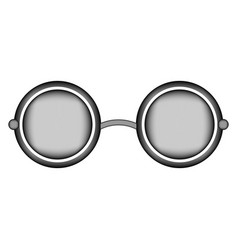 Glasses sign icon vector