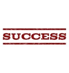 Success watermark stamp vector