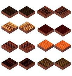 Wood iso vector
