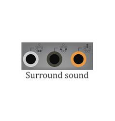 Surround sound vector