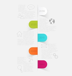 Minimal infographics design can be used for vector