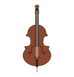 Classic violin isolated icon design vector