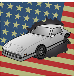American car vector