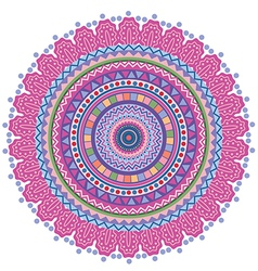 Circle tribal pattern vector