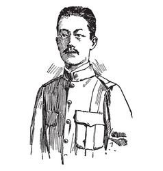 Emilio aguinaldo vintage vector