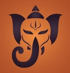 Ganesha1 vector image vector image