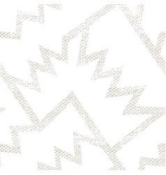 White geometric pattern grunge effect vector