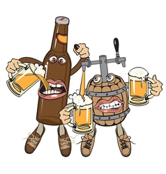 Alcoholics vector