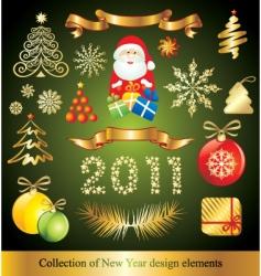 celebration design elements vector image vector image