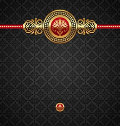 decorative luxury background vector image vector image