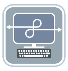 Network - icon vector image vector image