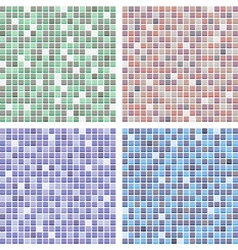 abstract tile backgrounds vector image