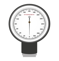Preasure device measure equipment icon vector