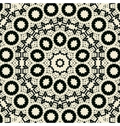 Symmetrical seamless pattern vector