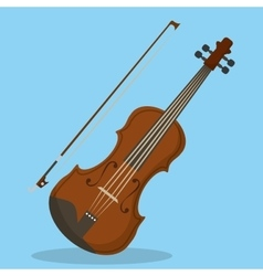 Cello icon music instrument graphic vector