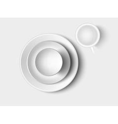 Cutlery and crockery vector