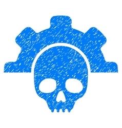Dead tools grainy texture icon vector