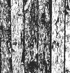 Wood fence grunge background black and white pine vector