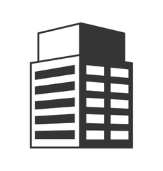 Tower building architecture vector