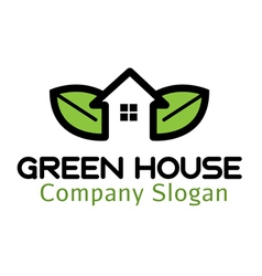 Green house design vector