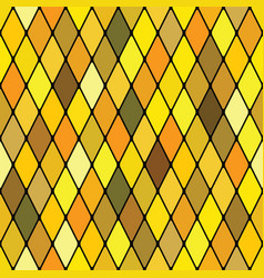 Harlequine golden seamless pattern vector