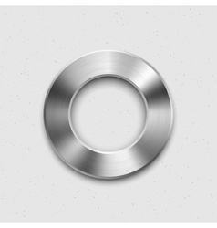 Metallic Volume Button Icon vector image