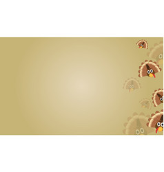 Thanksgiving style card background collection vector