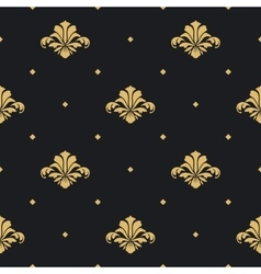 Baroque royal design wallpaper vector