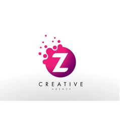 letter z logoz letter design vector image