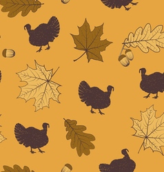 Thanksgiving pattern vector