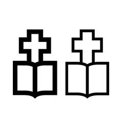 Cross-bible vector