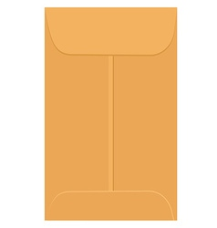 Envelope template vector image vector image