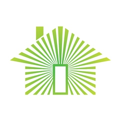 House energy green vector